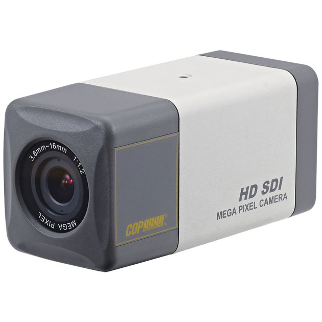 HD-SDI Box Camera with 4x Optical Motorized Lens 1