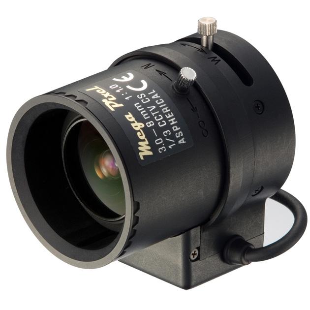 3~8mm Megapixel and Auto IRIS Lens 1