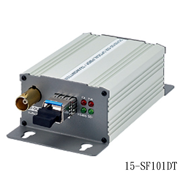 3G/HD/SD-SDI to Optical Fiber Converter with Data 1