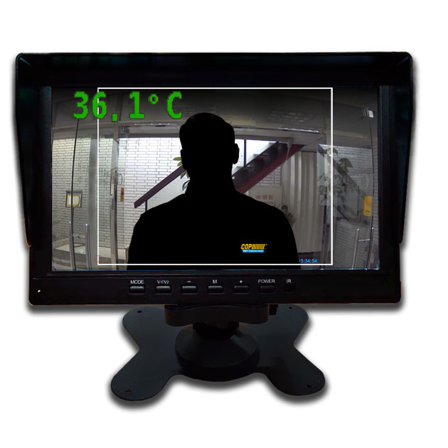 Temperature Detecting AHD Camera w/ Monitor 2