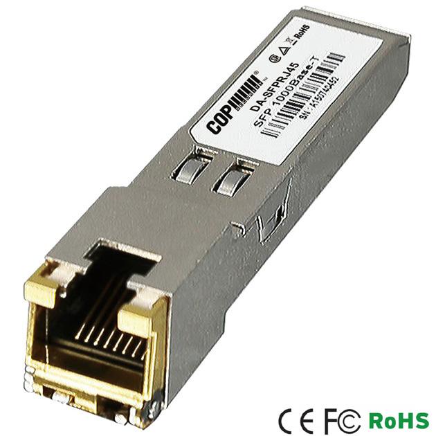 1000Base-T RJ45 100m SFP Module 1